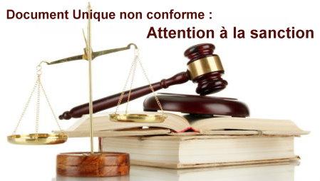 sanction-DU-non-conforme